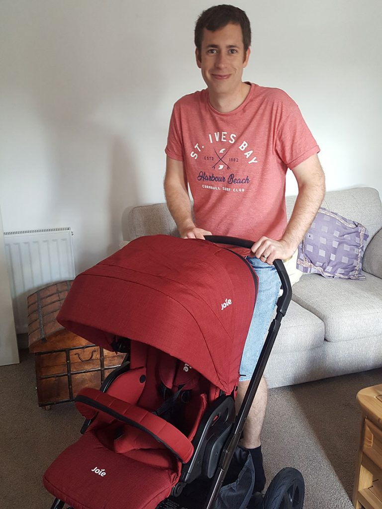 Diary of a Dad-to-be pram