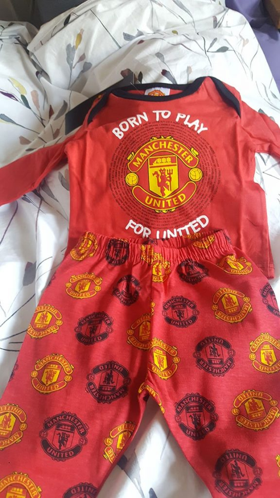 dad to be Man u
